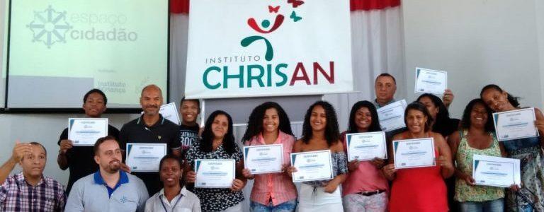 Projeto Espaço Cidadão forma turma em parceria com o Instituto Chrisan