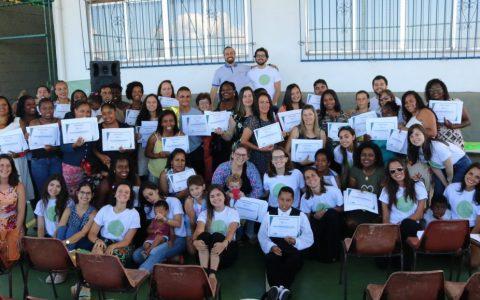 Projeto Espaço Cidadão forma mais de 800 jovens e adultos no estado do Rio de Janeiro em 2018
