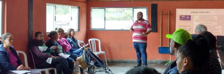 Projeto Espaço Cidadão realiza aulas em Teresópolis